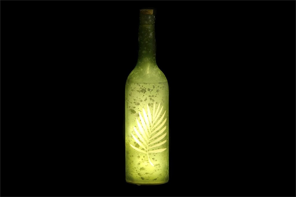 Foto 2 Botellas LED cristal
